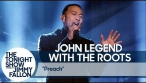 "John Legend Performs ""preach"" Live On The Tonight Show"